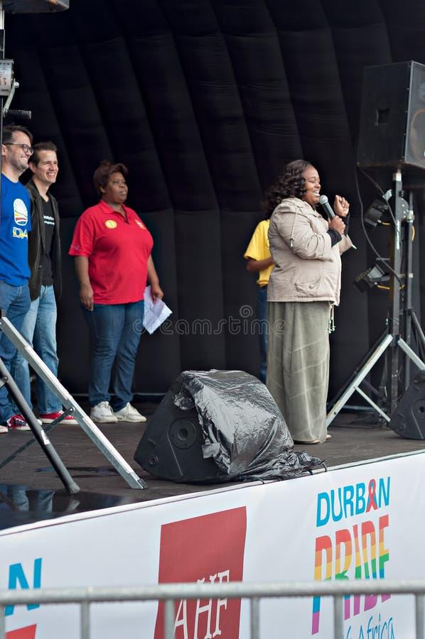 Fierté 2016 de Durban photographie stock libre de droits