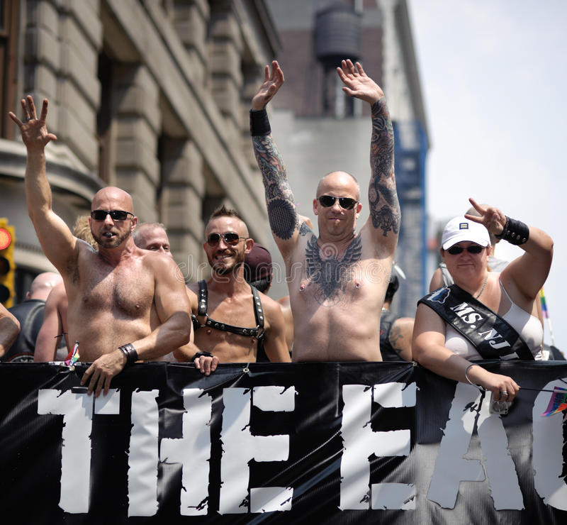 Fierté homosexuelle le mars 2010 de New York images stock