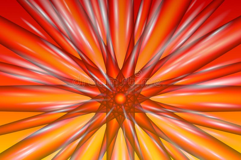 Fiery Burst illustration vector illustration