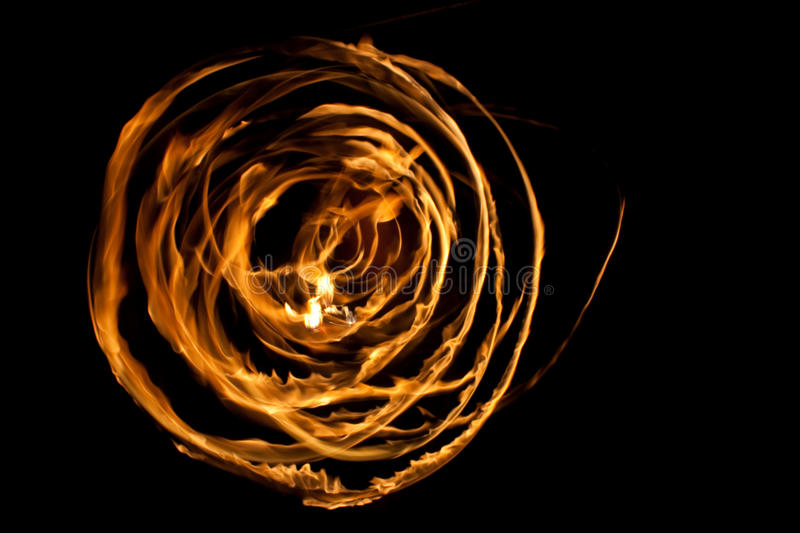 Fiery disk stock images