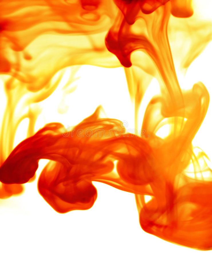 Download Fiery haze stock photo. Image of amber, liquid, smoke, orange - 655638