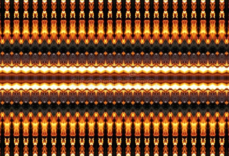 Fiery patterns. royalty free stock image