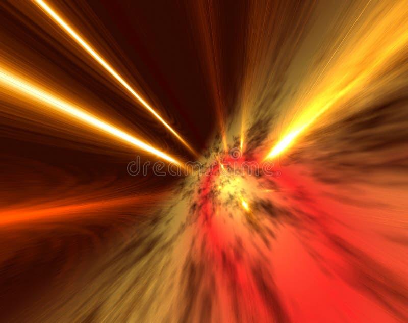 Download Fiery skies stock illustration. Image of flash, skies - 1430650