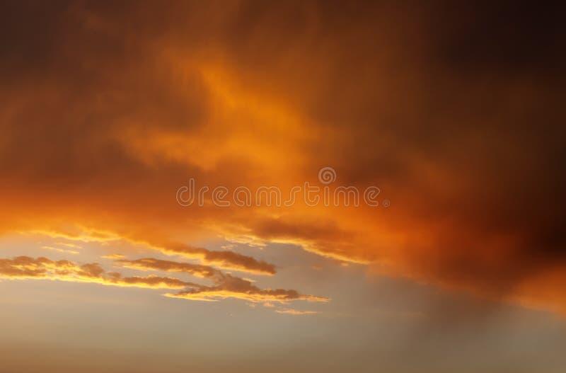 Download Fiery sunrise sky stock photo. Image of night, dawn, environmental - 35125326