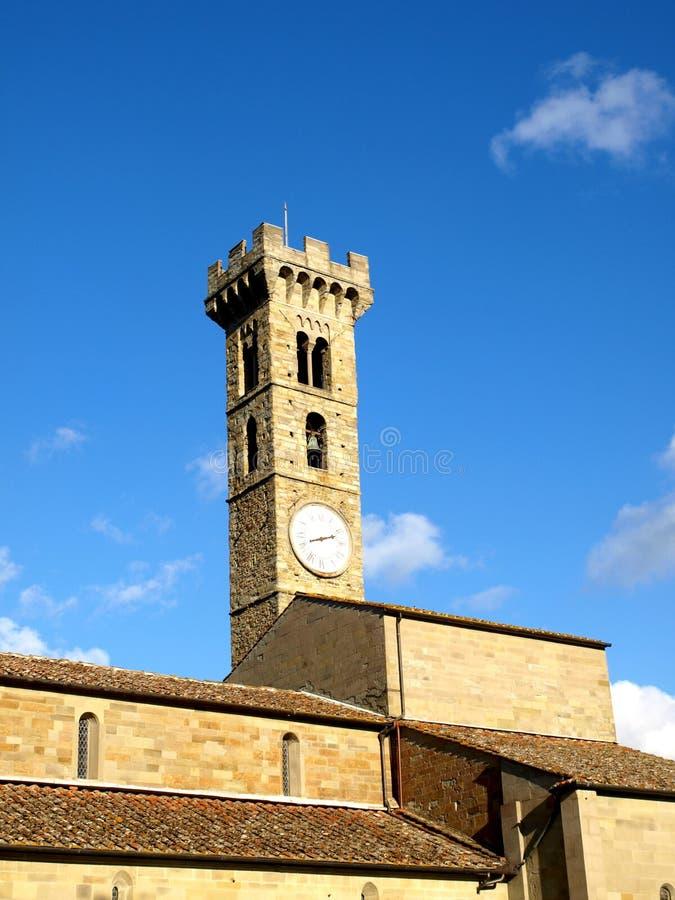 Fiesole Kathedrale stockbild