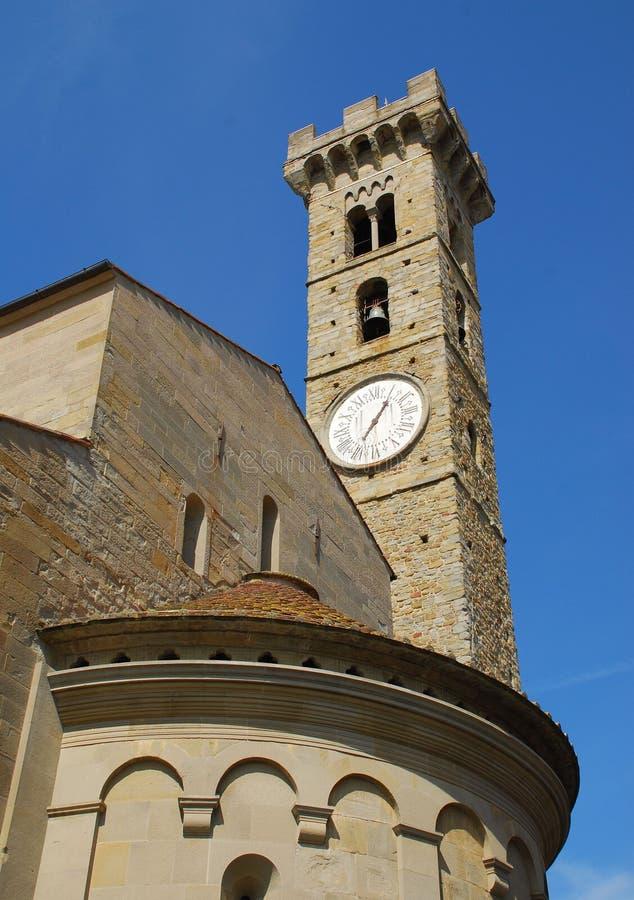 Fiesole Kathedrale, Italien lizenzfreie stockbilder