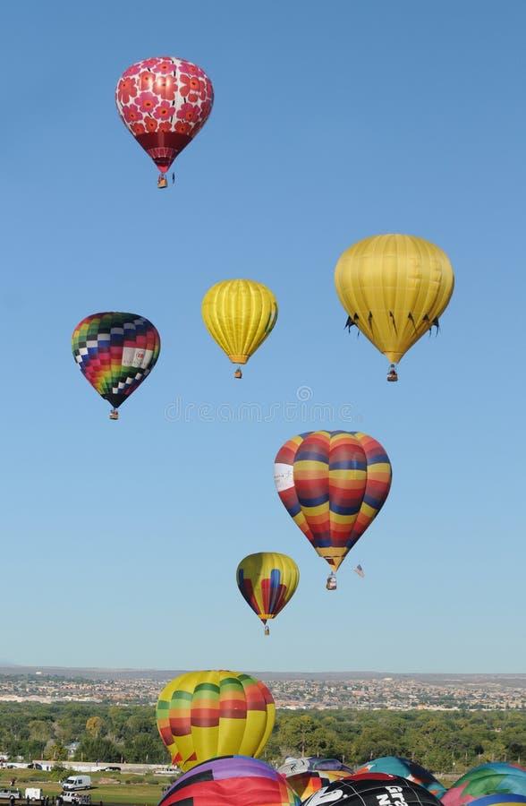 Fiesta 2011 van de Ballon van Albuquerque de Internationale stock foto