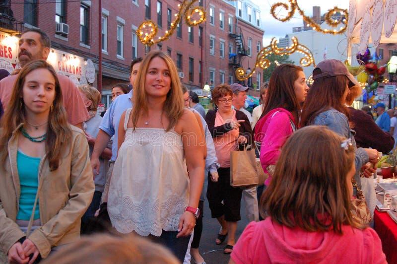 Fiesta d'été et foire de rue image stock