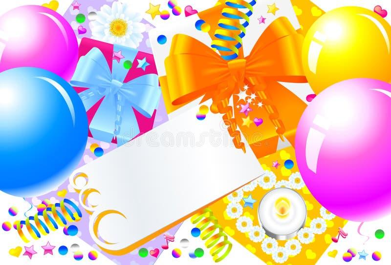 Fiesta de cumpleaños foto de archivo libre de regalías