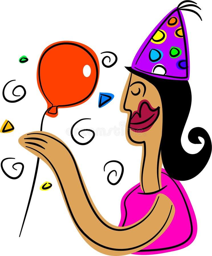 Fiesta de cumpleaños libre illustration