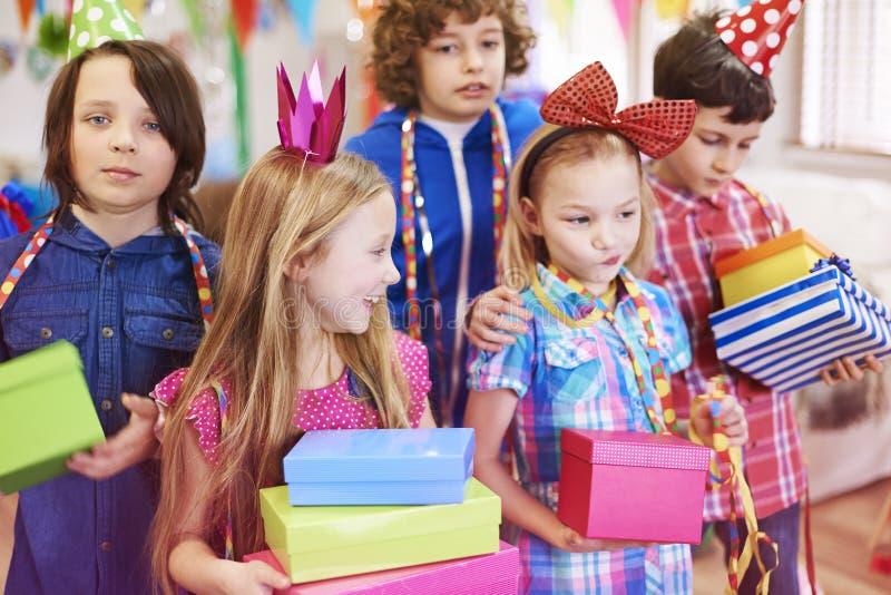 Fiesta de cumpleaños fotos de archivo libres de regalías