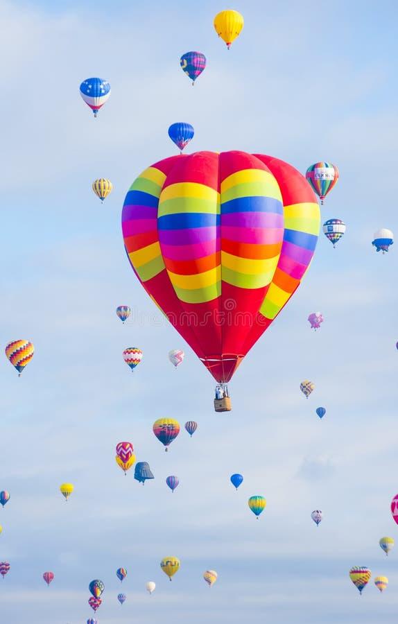 Fiesta del globo de Albuquerque fotografía de archivo libre de regalías