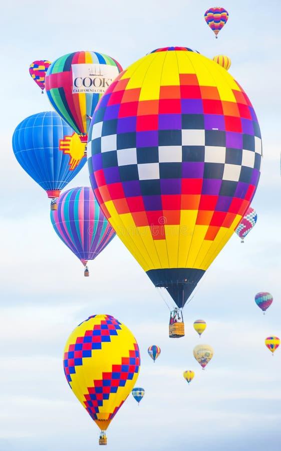 Fiesta del globo de Albuquerque imagen de archivo