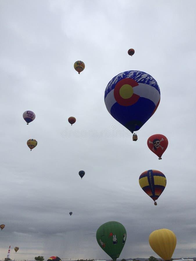 Fiesta 2016 del globo de Albuquerque imágenes de archivo libres de regalías