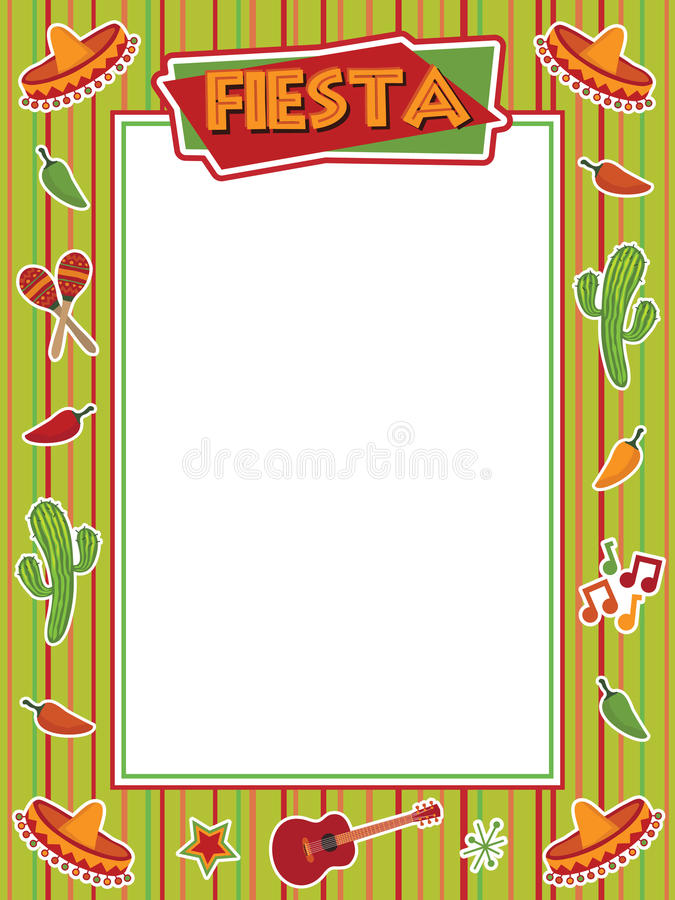 Free Fiesta Frame Royalty Free Stock Photo - 13127225