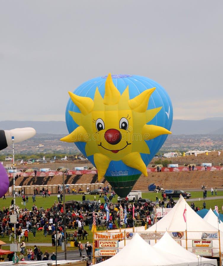 Fiesta internacional en Albuquerque, nanómetro del globo fotos de archivo libres de regalías