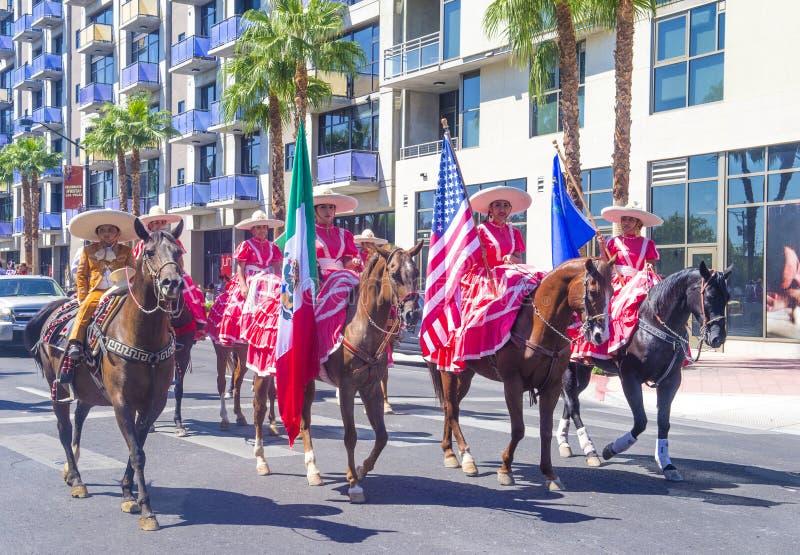 Fiesta Las Vegas stock afbeelding