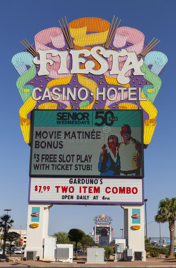Download Fiesta Rancho Casino Sign In Las Vegas, NV On May 29, 2013 Editorial Image - Image: 31351075