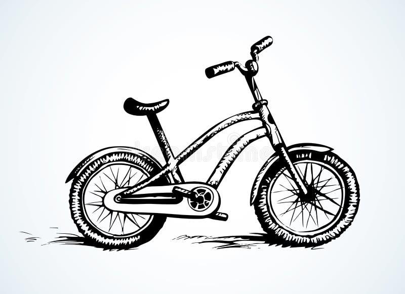 Fiets Vector tekening vector illustratie