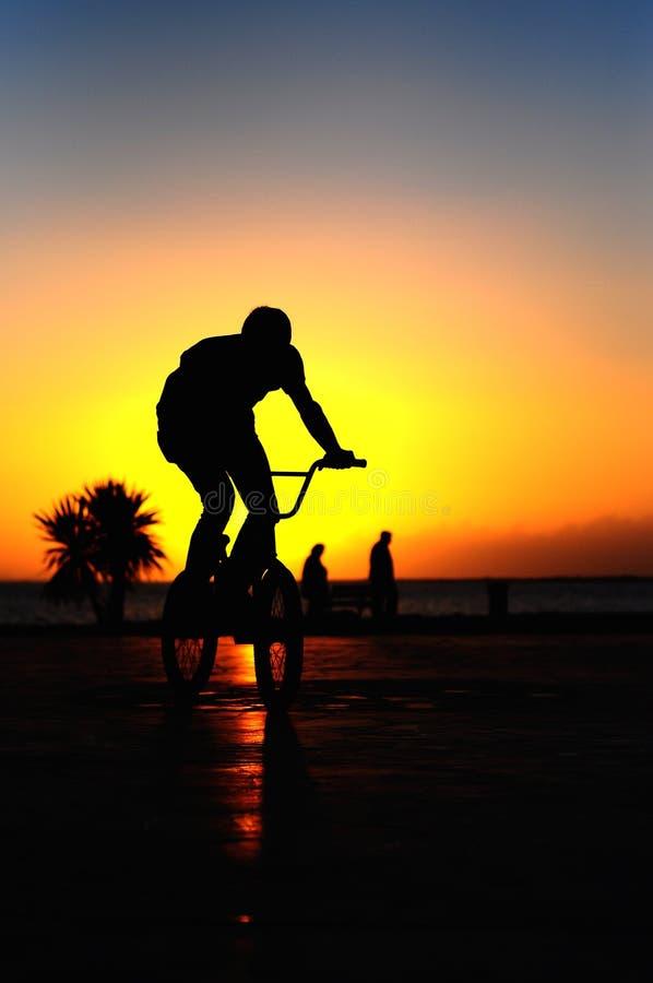 fietser stock foto's