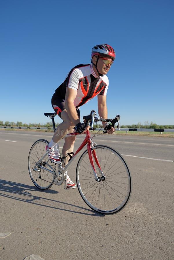 fietser royalty-vrije stock fotografie