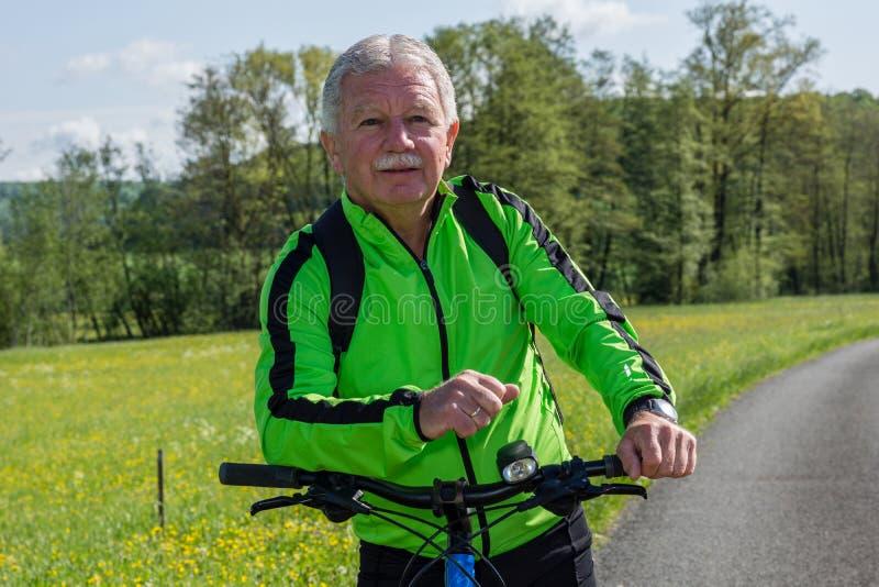 fietser stock afbeelding