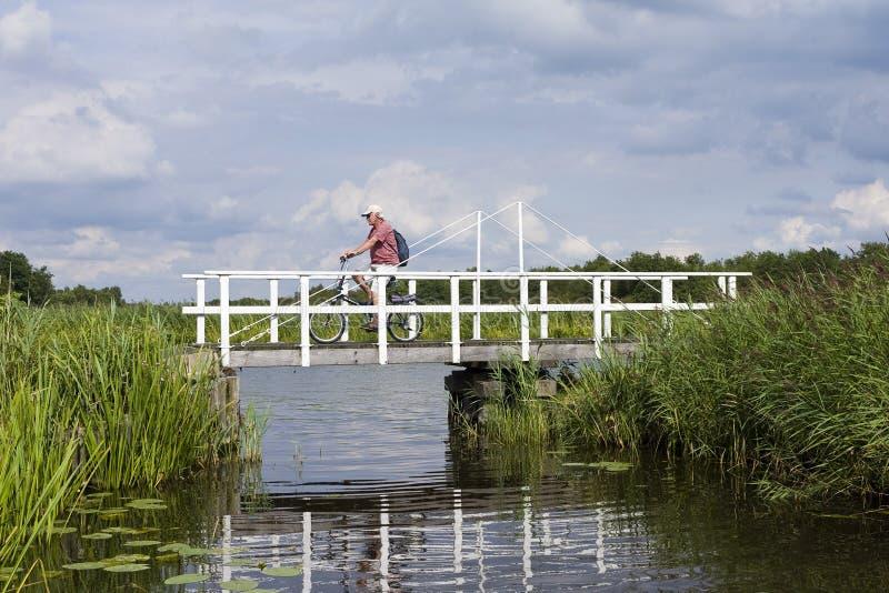 Fietser, ciclista fotografia de stock royalty free