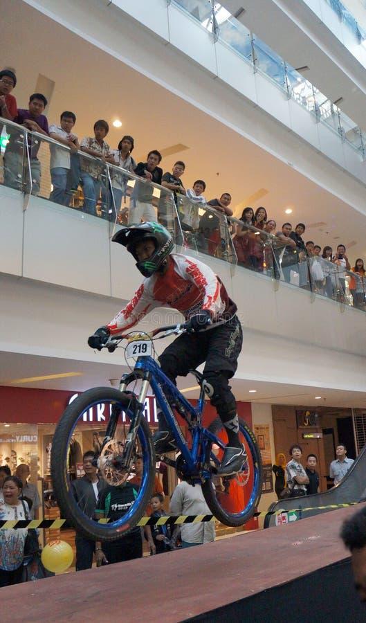 fietsers royalty-vrije stock foto
