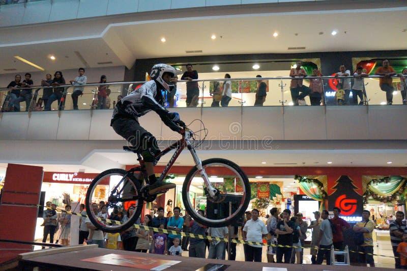 fietsers stock foto's