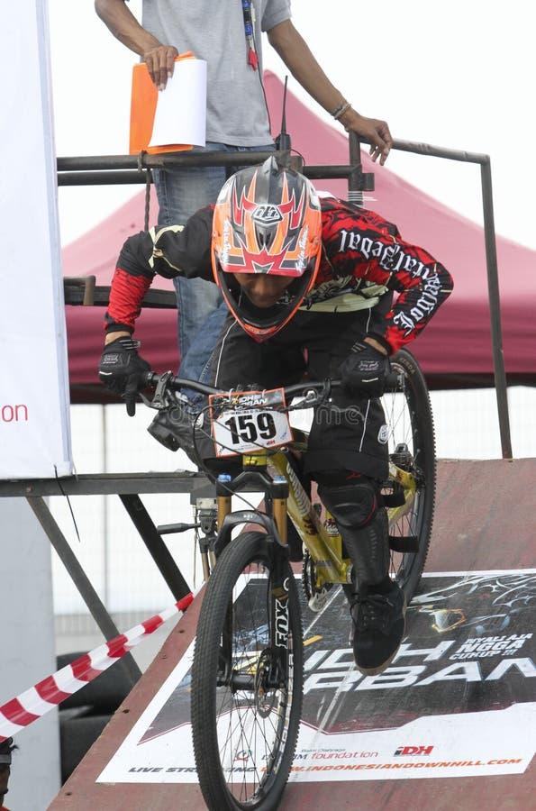 fietsers royalty-vrije stock fotografie