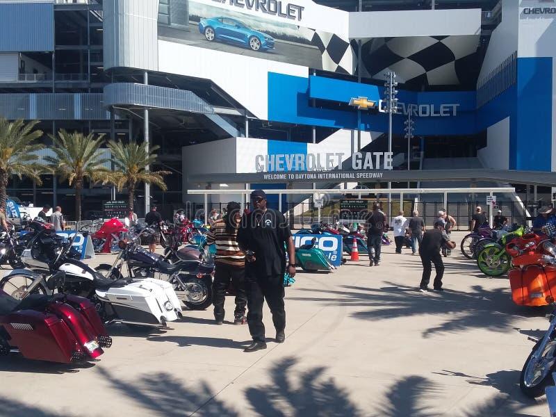 Fietsweek in Daytona Beach royalty-vrije stock foto