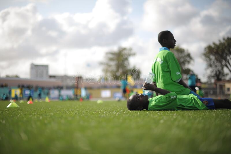 2013_08_19_FIFA_Childrens_Day_C stock photo