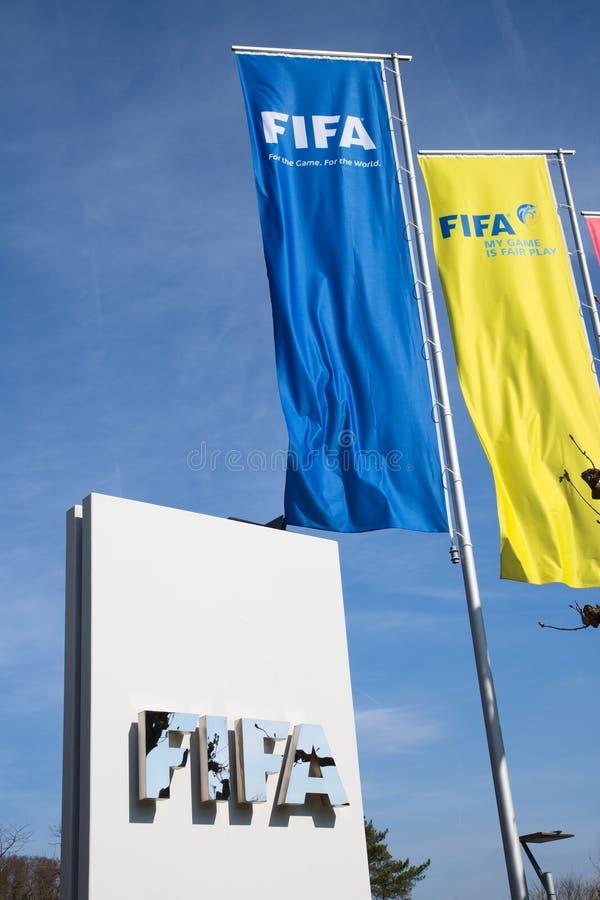 FIFA förlägger högkvarter arkivfoto