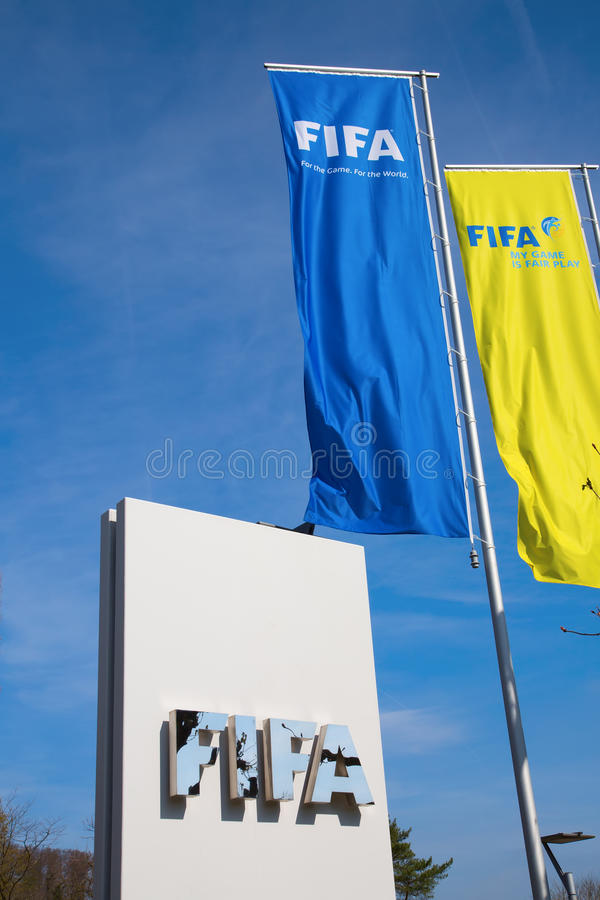 FIFA haben Hauptsitz stockbild