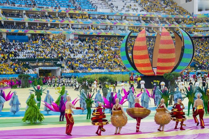 FIFA puchar świata BRAZYLIA 2014 fotografia stock