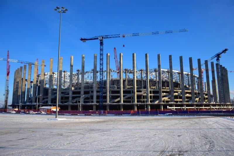 FIFA 2018, Russia. Stadium in Nizhny Novgorod stock image