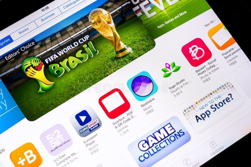 FIFA VÄRLDSCUP BRASILIEN 2014 arkivbilder