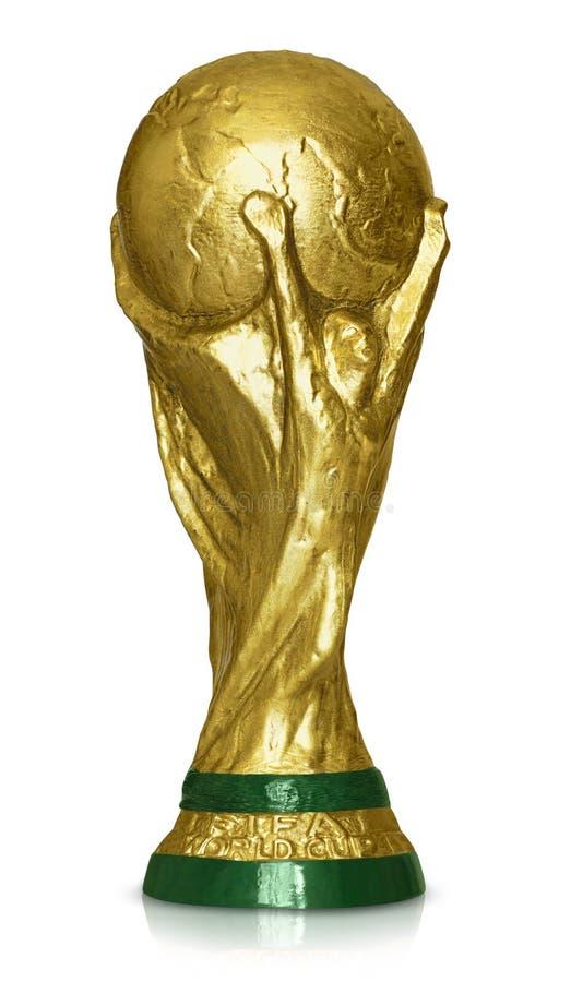 FIFA världscup Thropy royaltyfri foto
