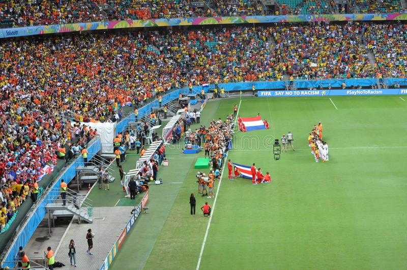 FIFA World Cup 2014 royalty free stock images