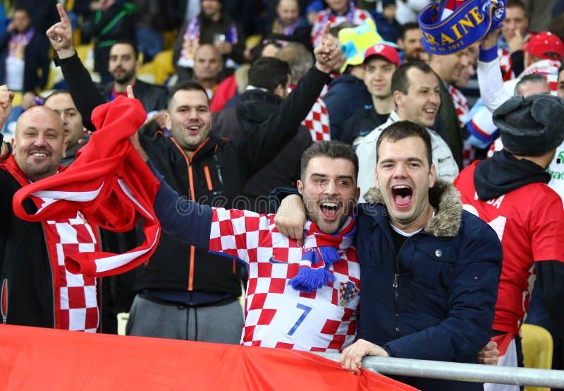 FIFA World Cup 2018 qualifying: Ukraine v Croatia stock images