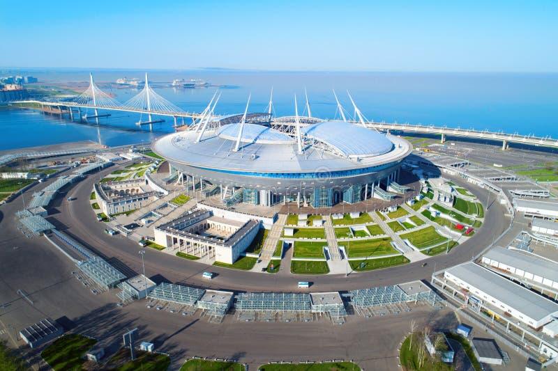 2018 FIFA World Cup, Russia, Saint Petersburg, Saint Petersburg stadium stock image