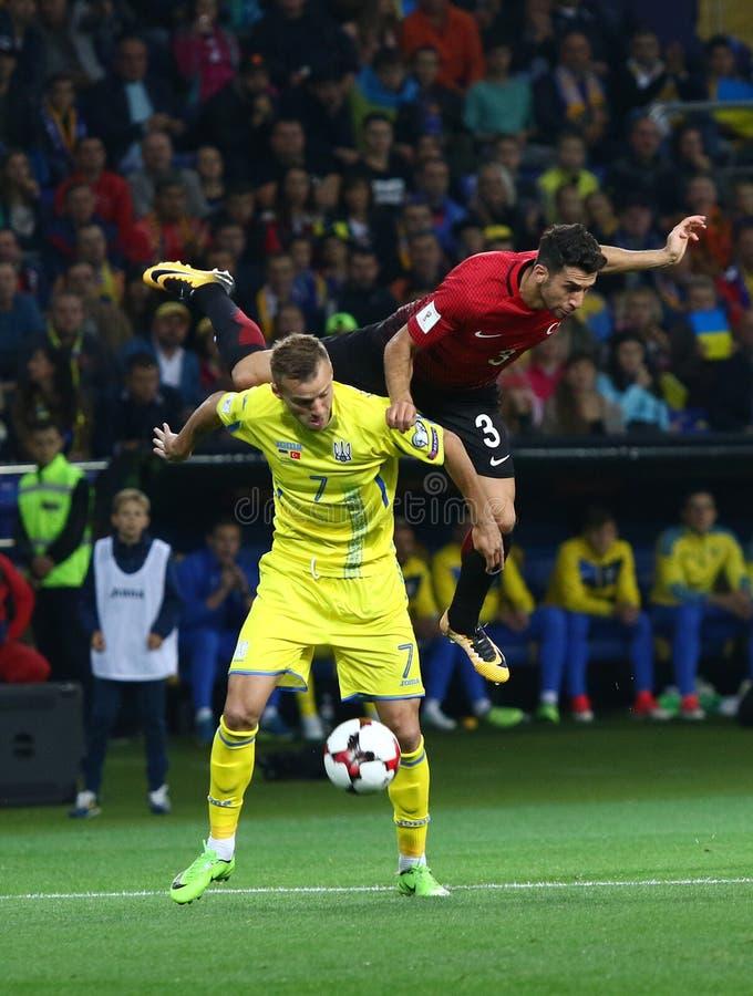FIFA World Cup 2018 Ukraine vs Turkey in Kharkiv, Ukraine stock image