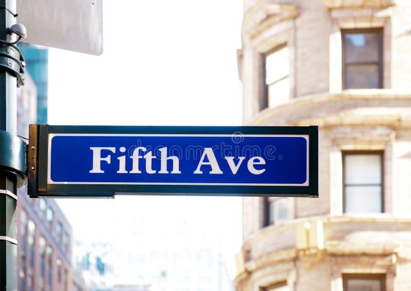 Fifth Avenue lizenzfreie stockfotografie