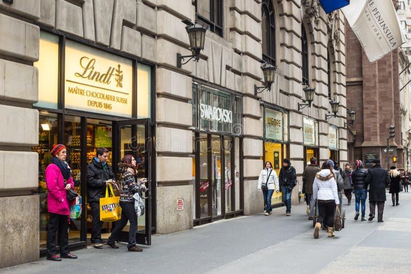 Fifth Avenue NYC fotografia stock