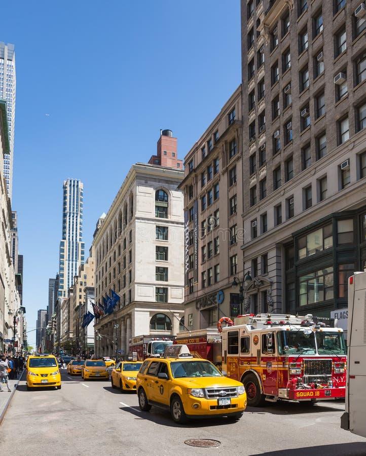 Fifth Avenue w Miasto Nowy Jork zdjęcie royalty free