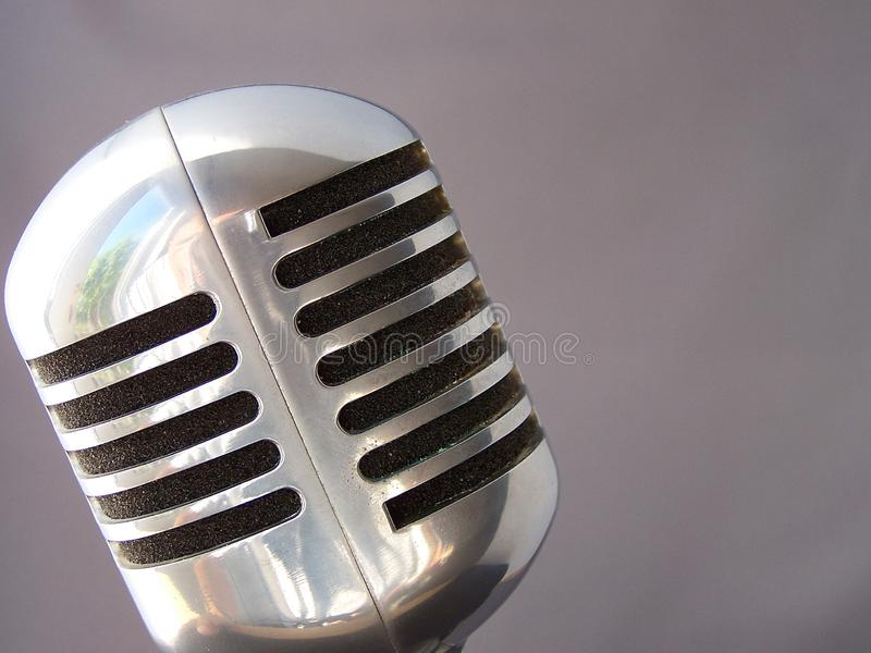 Download Fifties Mic stock image. Image of amplification, refelection - 3116195