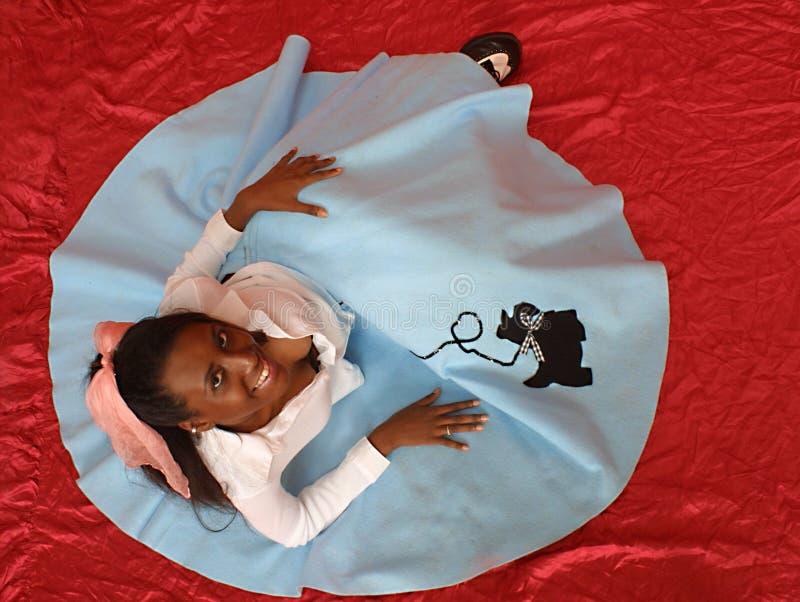 Download Fifties poodle skirt στοκ εικόνα. εικόνα από εμφάνισης - 124027