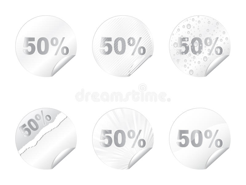 Download Fifty percent discount stock vector. Image of drop, message - 11099014