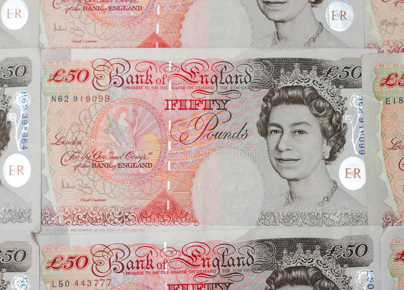 Download Fifty Pound Note editorial stock image. Image of pound - 21760289