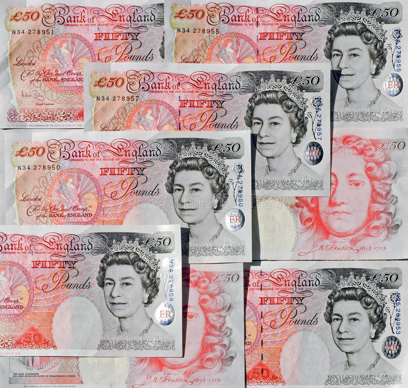 Download Fifty Pound Notes - Great Britain Editorial Photography - Image: 11662237